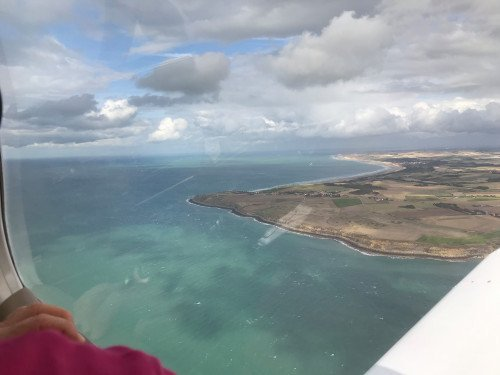 Balade aérienne des 2 Caps depuis Berck