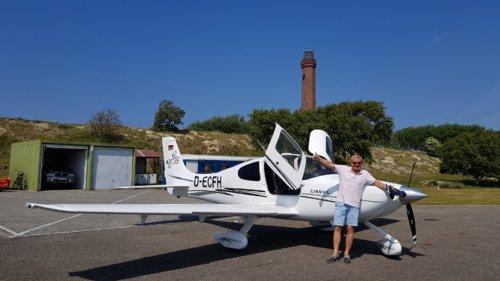 Entertainmentflug Flug auf die Nordseeinsel Norderney