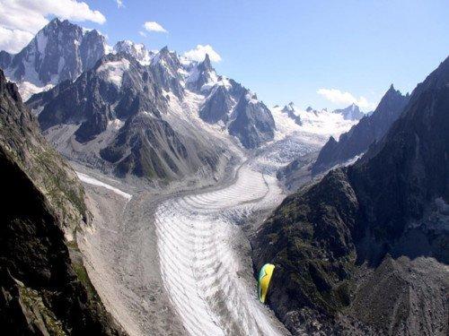 Le Mont Blanc au départ de Montpellier