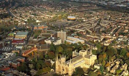 Peterborough from the Air