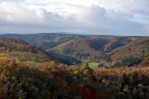 Flug in den Harz