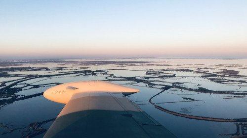 Kurztripp nach Venedig * ex. Airforce Marchetti F260 (James Bond Marchetti)