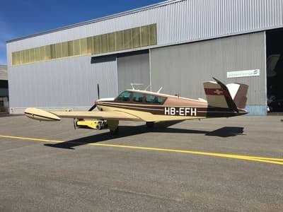 Beechcraft Bonanza 35 V-Tail