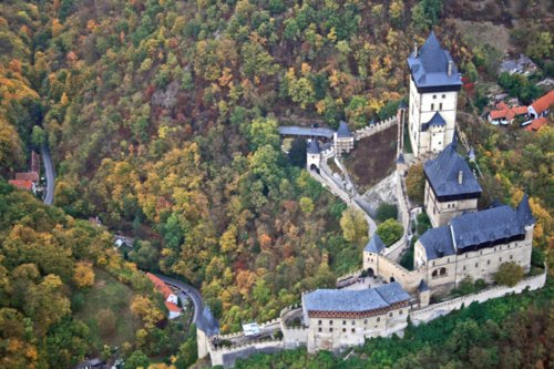Sightseeing Flight - Karlštejn Castle (1p)