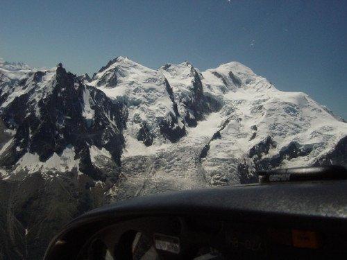 Matterhorn und Mont Blanc