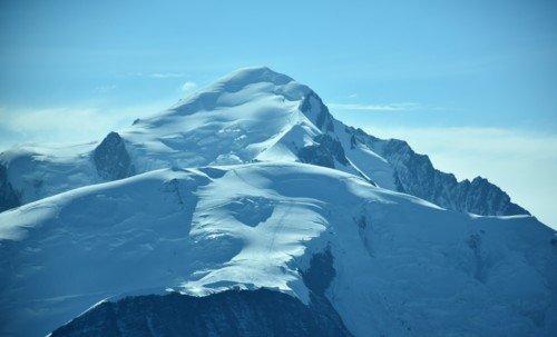 Vol destination Mont-Blanc et sa vallée