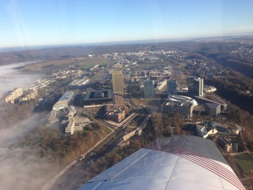 Vol touristique / Touristic Flight - Luxembourg