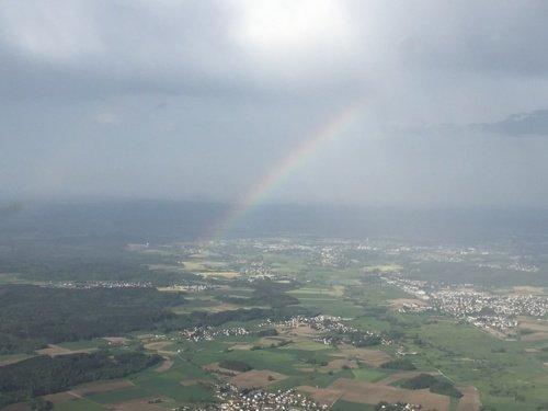 Rundflug von Nürnberg über die Fränkischen Seen