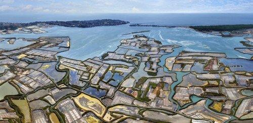 Magnifique tour pour la côte, îles et golfe du Morbihan.
