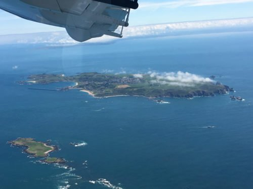 Day trip to Alderney for lunch