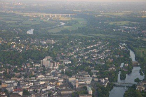 Entertainment-Rundflug Ruhrgebiet, CentrO, Rhein, Ruhr und Fußballstadien