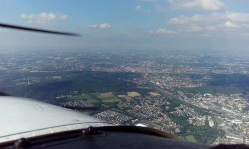 Rundflug über Bielefeld und Umgebung (3 Personen - 45 Minuten)