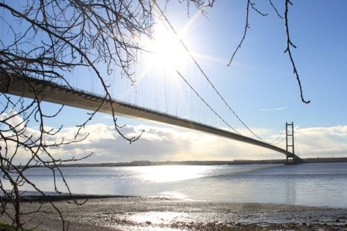 See Humber Bridge from your own private helicopter!
