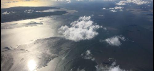 Rundflug über die Ostfriesischen Inseln