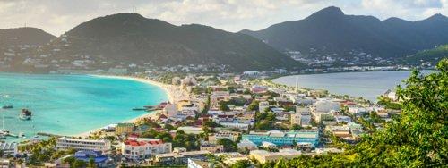 Passer la journée à Saint-Martin dans les Antilles
