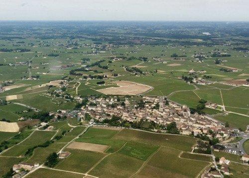 Les Vignobles et Châteaux vus du ciel
