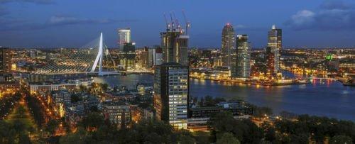 Rotterdam in a Day - a Flight from London (Blackbushe)