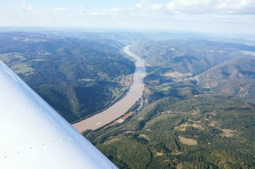 Flug über die Wachau