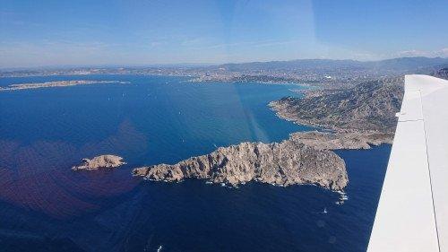 Marseille, les Calanques et la Sainte Victoire (quadriplace)