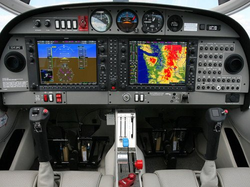 Diamond Aircraft DA-40 Glass Cockpit
