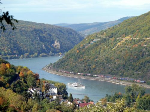 Rundflug oberes Mittelrheintal (Weltkulturerbe)