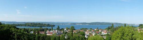 Baignade dans le lac de Constance