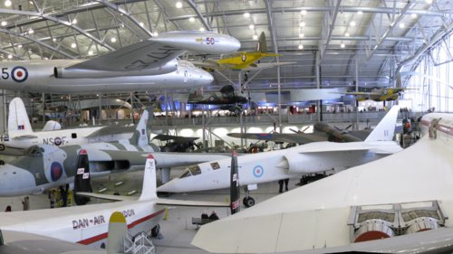 Join me on a flight to Duxford Museum for the day!