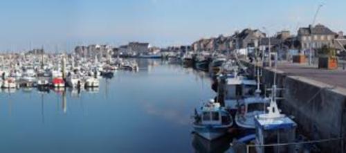 La côte de Normandie de Ouistreham à Cherbourg