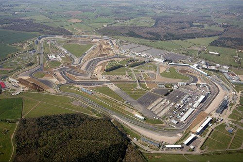 Silverstone Racetrack from the Air!
