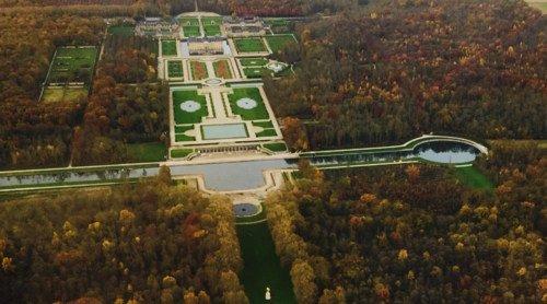 Le Château de Vaux-Le-Vicomte et la Marne / 3 passagers / Appareil 4 places