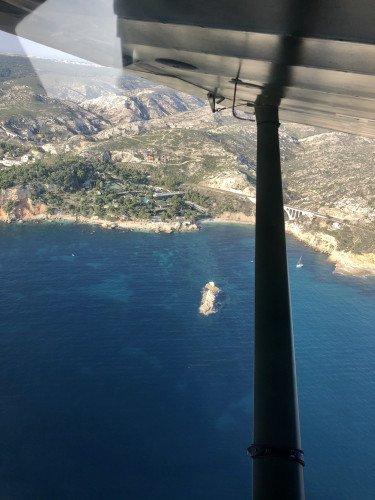 Vol au dessus des calanques, puis circuit auto du Castellet