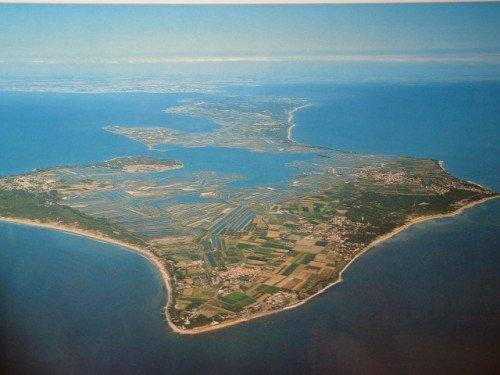 Survol de l'archipel Charentais : Île d'Aix, Oléron et Ré