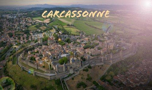 Excursion aérienne à Carcassonne