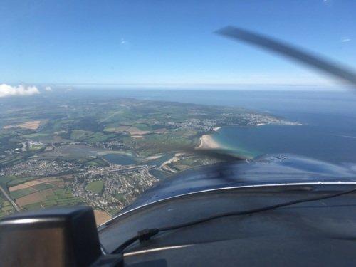 Sightseeing flight from Newquay