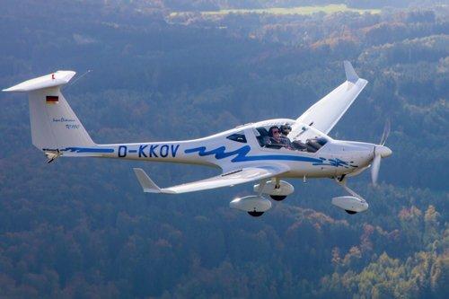 Rundflug über Augsburg & Umgebung mit einer Super Dimona